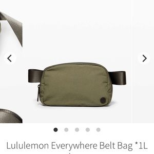 Lululemon Everywhere Belt Bag